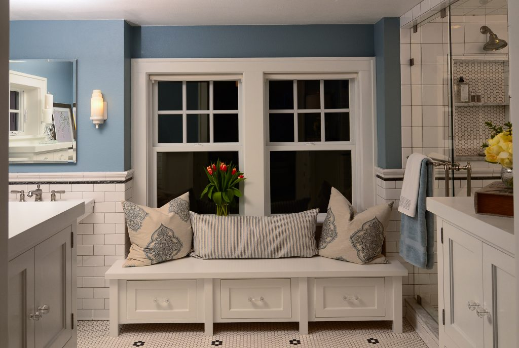 NE Portland Bungalow Master Bath Heavenly Retreat 121 1024x687 - paint the town: Sherwin-Williams Color Forecast + tips