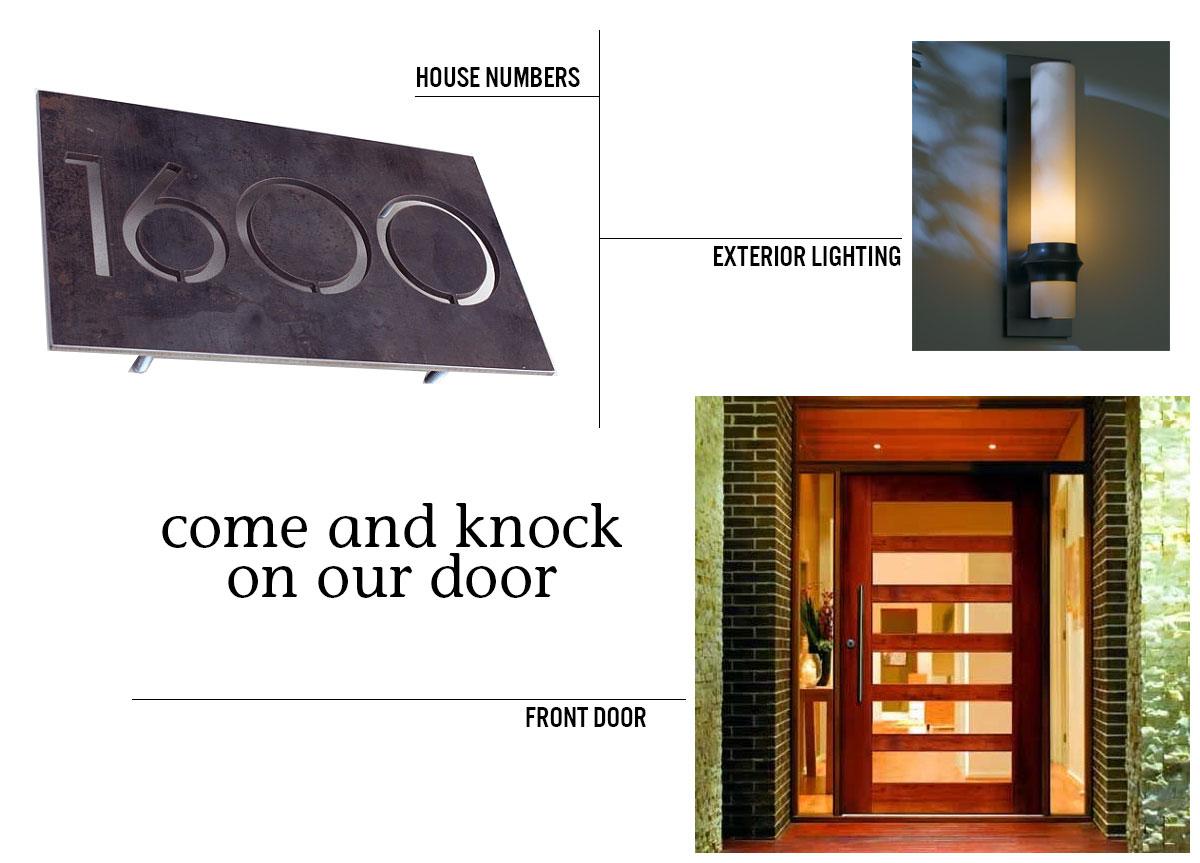 knock on our door blog - ...and behind door #1
