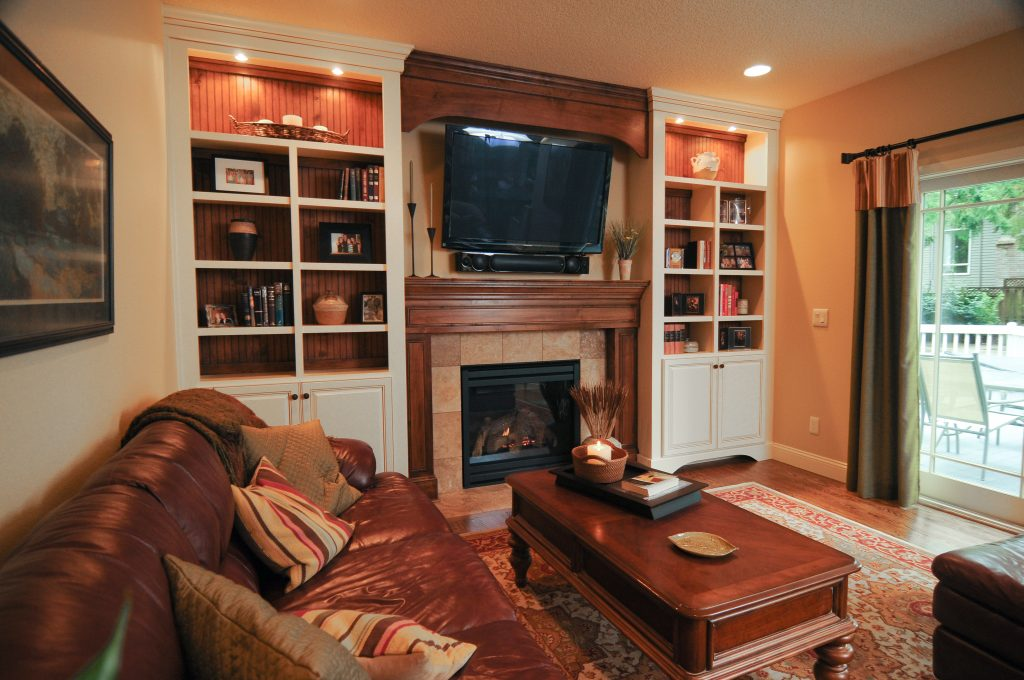 Tualatin Family Room Remodel 1024x680 - baby it's cold outside: fireplace designs