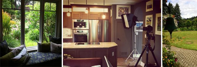 oregon home photo shoot