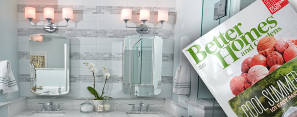 Bath Featured In Better Homes And Garden Magazine Mountainwood Homes Gorgeous Better Homes And Gardens Bathrooms