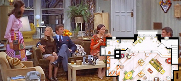 Mary Tyler Moore S Famous Apartment Floor Plan