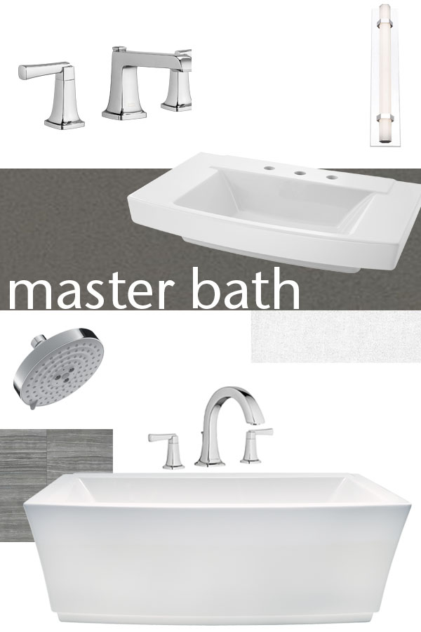 master bath design board