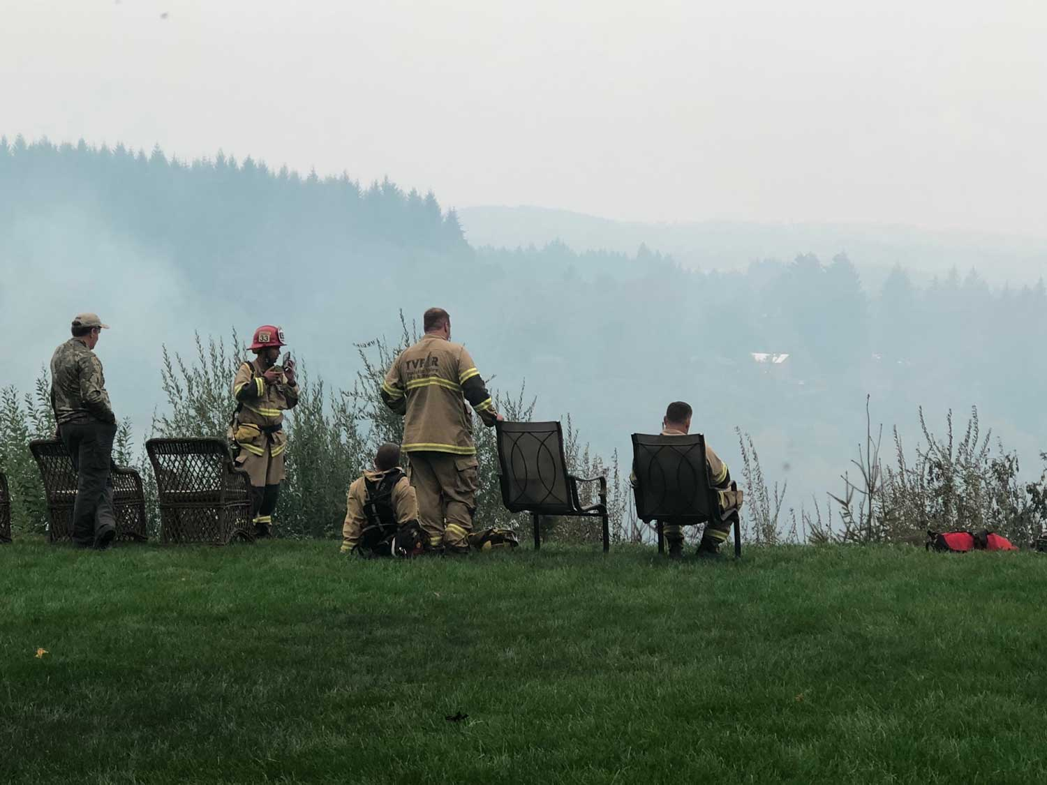 Oregon Wildfire Firefighters